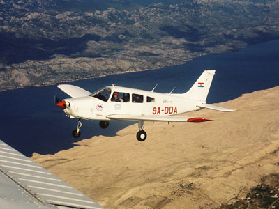 Piper PA-28 Warrior, 9A-DDA
